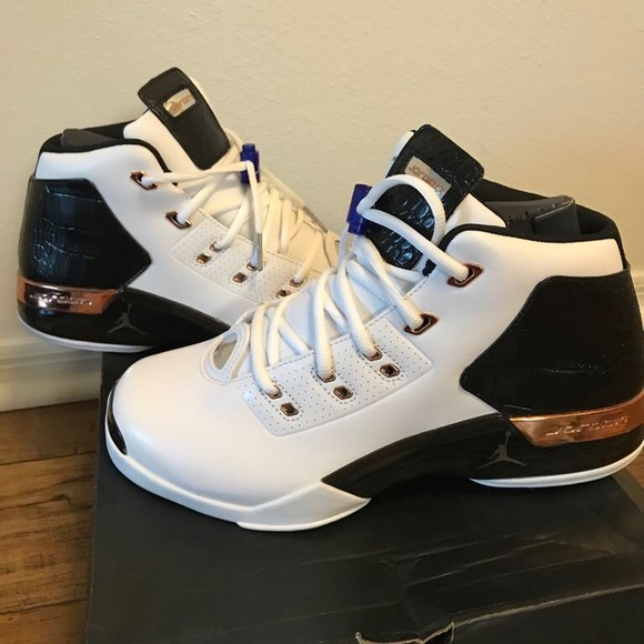 c96bec71f95e Jordan Other - Jordan Retro 17s white gold Black